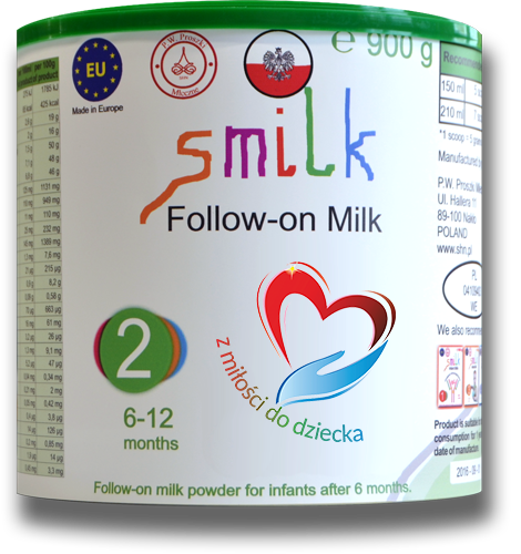 Milk for babies, infant milk powder, follow-on milk powder, smilk, smilk 2