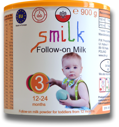 Milk for babies, infant milk powder, follow-on milk powder, smilk,  smilk 3